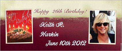 KEITH R. HARKIN!