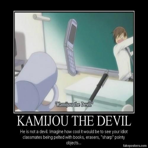 Kamijou the devil