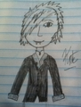 Kate's old, crappy drawing of Dmitry