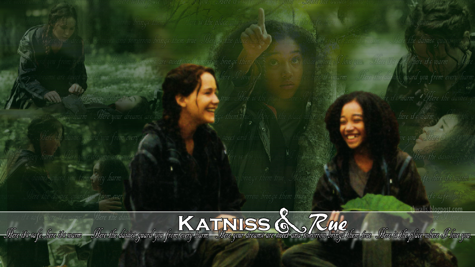 The hunger games katniss &; rue