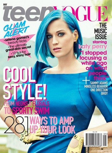 Katy Perry for Teen Vogue May 2012