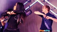 Keke and Burkely dancing