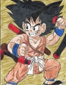 Kid Goku - dragon-ball fan art