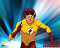 KidFlash - teen-titans-vs-young-justice wallpaper