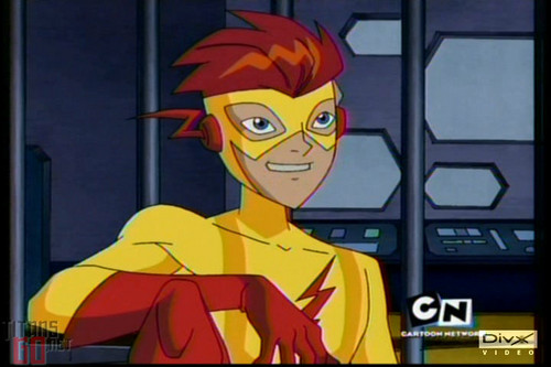 Teen Titans vs. Young Justice Обои possibly with Аниме titled KidFlash
