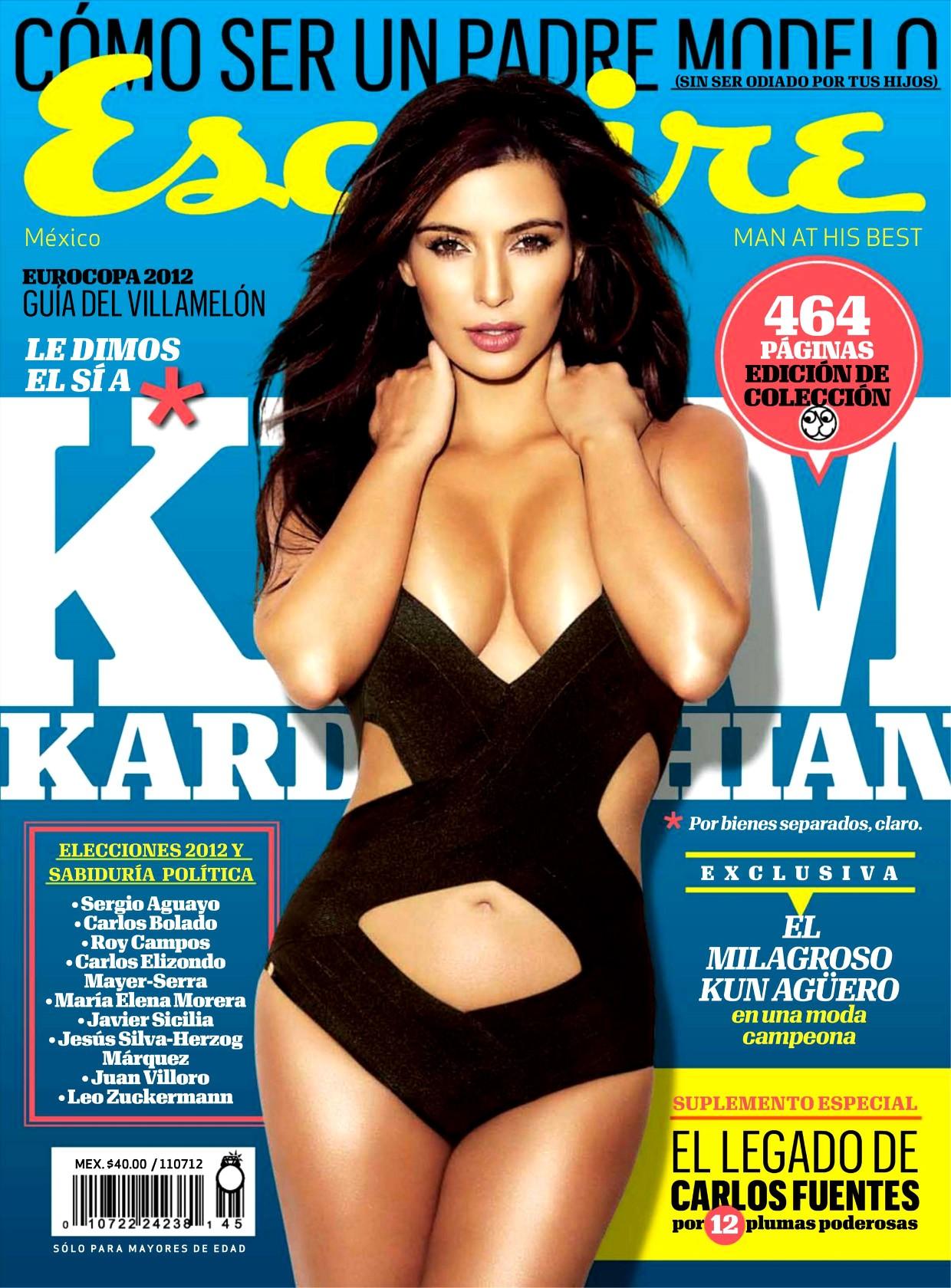 Kim Kardashian Photoshoot for Esquire Mexico Magazine