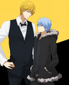 Kise and Kuroko