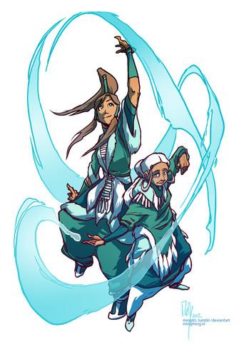 Korra & Katara