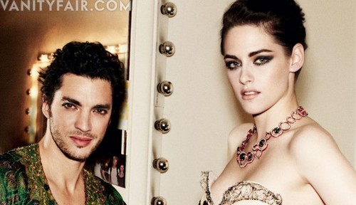 Kris in Vanity Fair
