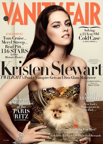 Kristen Stewart in Paris Couture | Vanity Fair - 2012