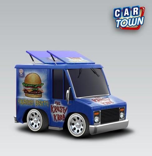 Krusty Krab mini truck