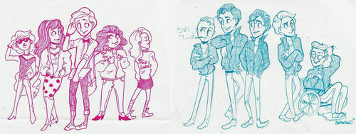 Kurt and Blaine - kurt-and-blaine Fan Art