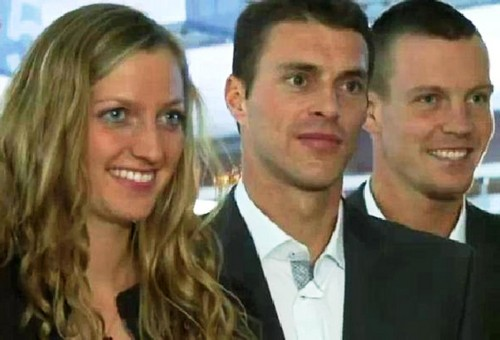 Kvitova,Cermak and Berdych
