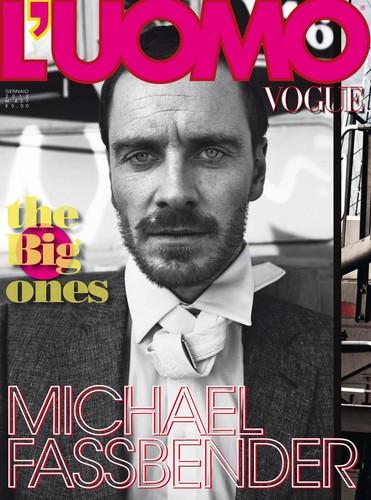 L'Uomo Vogue January 2012 magazine cover