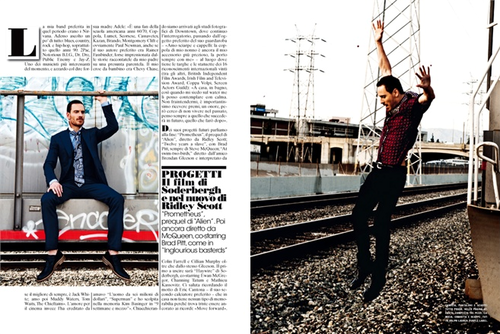 L'Uomo Vogue magazine january 2012