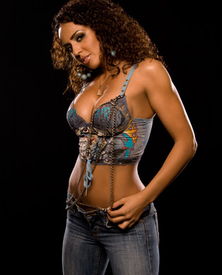 WWE LAYLA پیپر وال called Layla Photoshoot Flashback