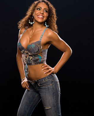 wwe layla fondo de pantalla called Layla Photoshoot Flashback
