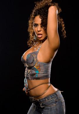 WWE-蕾拉 壁纸 called Layla Photoshoot Flashback