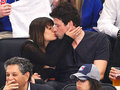 Lea Michele & Cory Monteith Smooch at Hockey Game May 16