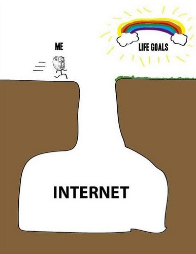 Life Goals and the Internet