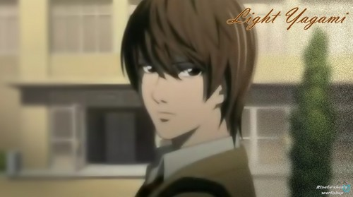 Light Yagami wallpaper entitled Light♥