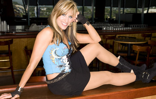 Lilian Garcia achtergrond probably with a leotard entitled Lilian Garcia Photoshoot Flashback