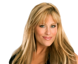 Lilian Garcia achtergrond containing a portrait entitled Lilian Garcia
