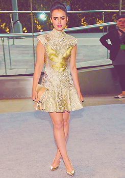 Lily Collins l CFDA Fashion Awards (2012)