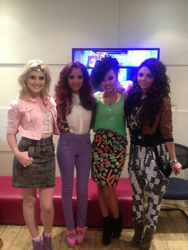 Little Mix on Alan Carr's Chatty Man.