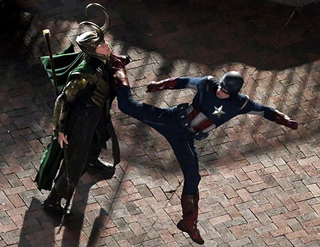 Loki vs Captain America - the-avengers Photo