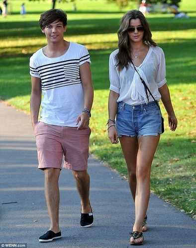 louis tomlinson wallpaper titled Louis & Eleanor