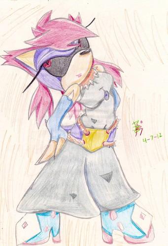 Luna the Hedgehog ((Gift))