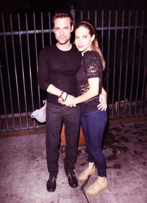 Lyndsy Fonseca and Shane West at Sayers Club