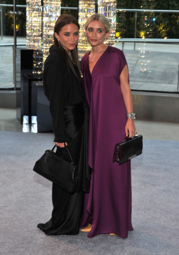Mary-Kate & Ashley Olsen - 2012 CFDA Fashion Awards - Cocktails, June 04, 2012