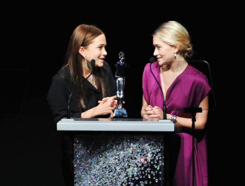 Mary-Kate & Ashley Olsen - 2012 CFDA Fashion Awards - Show, June 04, 2012