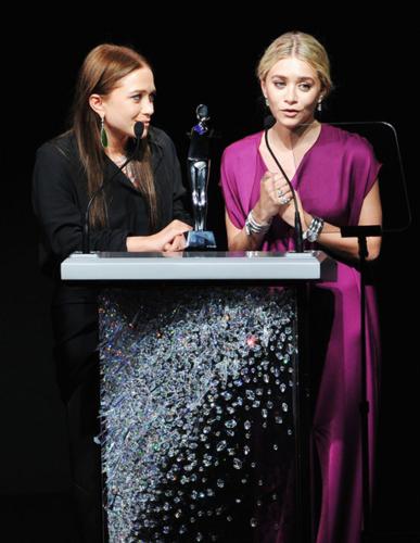 Mary-Kate & Ashley Olsen - 2012 CFDA Fashion Awards - Show, June 04, 2012