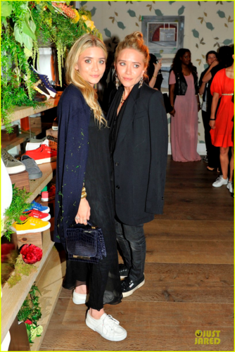 Mary-Kate & Ashley Olsen - At Superga's opening launch party, May 30, 2012