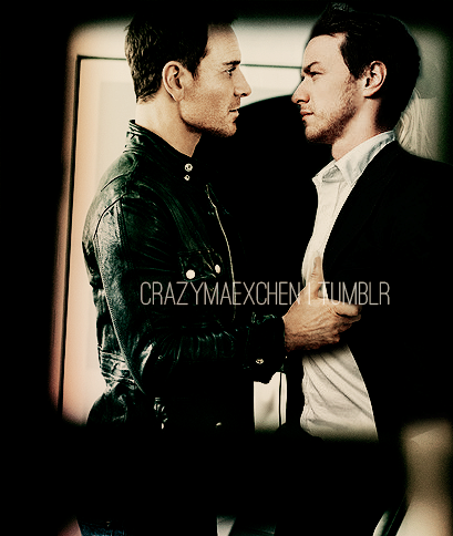 James McAvoy and Michael Fassbender hình nền with a business suit called McFassy