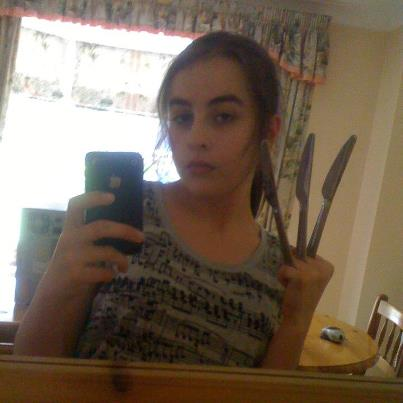 Me being normal and pretending to be Wolverine (My FaceBook pic XD)