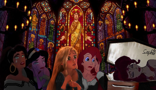 Meg's funeral - disney-crossover Photo