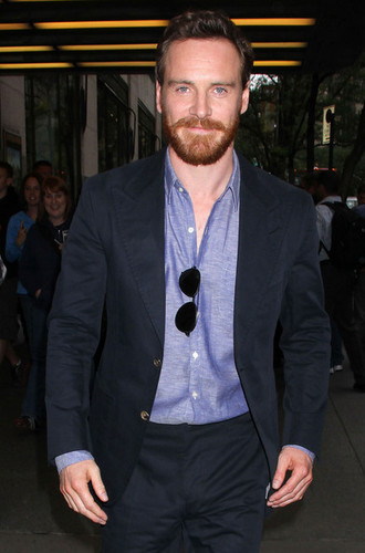 Michael Fassbender At 'Late Night With Jimmy Fallon' June 2012