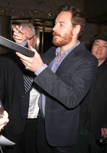 Michael Fassbender At 'Late Night With Jimmy Fallon' June 2012 - michael-fassbender Photo