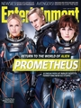 Michael Fassbender in Prometheus EW Magazine Cover 2012
