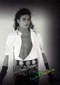 Michael Jackson Dirty Diana Photoshoots sexy Pose