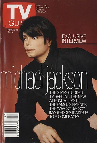 Michael Jackson on the Cover of TV Guide (2001)