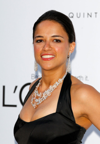 Michelle Rodriguez wallpaper possibly with a portrait titled Michelle - 2012 amfAR's Cinema Against AIDS - Arrivals, May 24, 2012