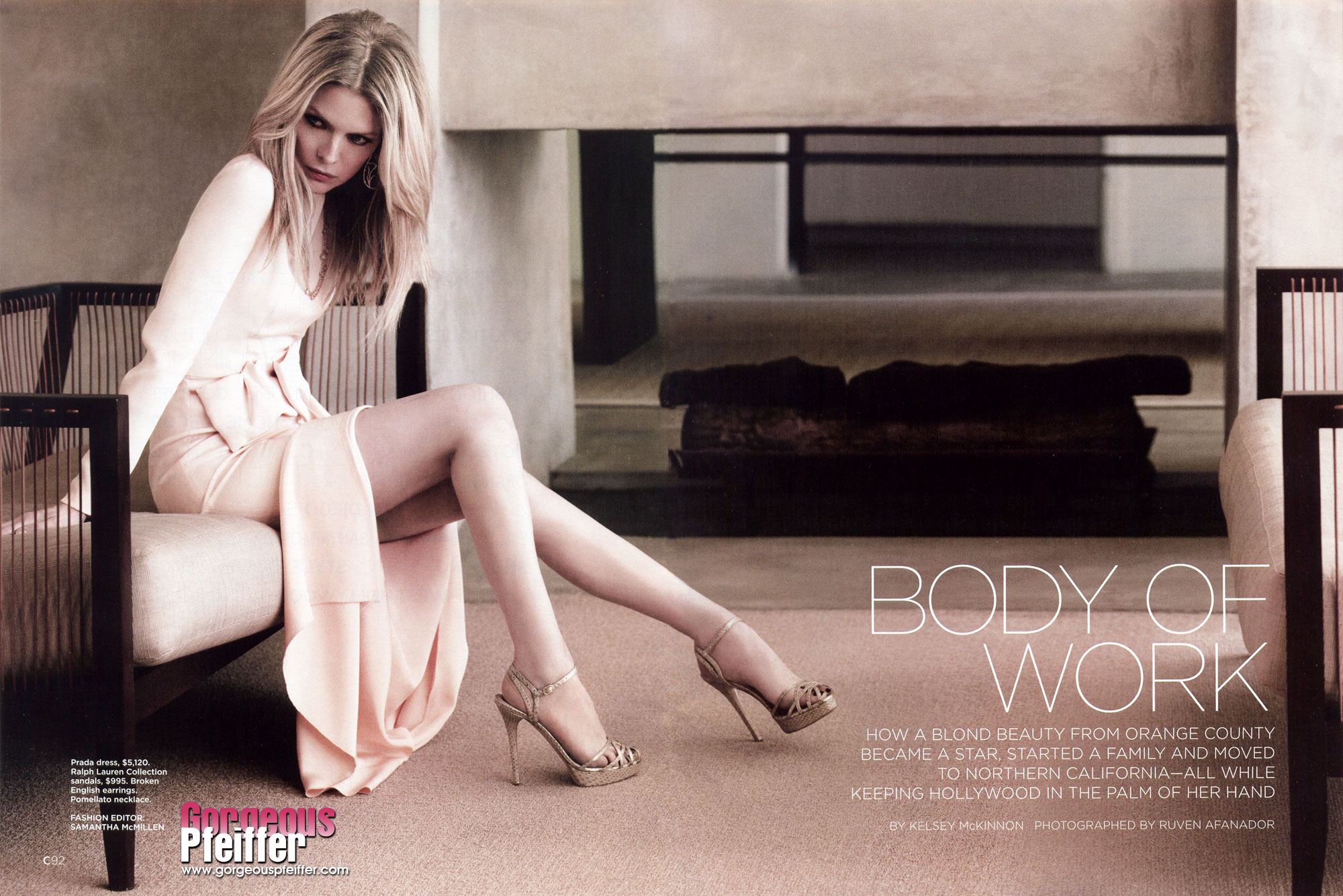Michelle pfeiffer legs