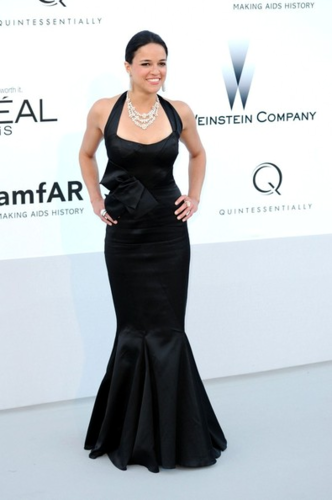 Michelle Rodriguez hình nền titled Michelle - The Cinema Against AIDS amfAR Gala, May 24, 2012