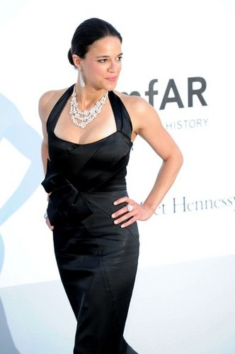 Michelle Rodriguez wallpaper titled Michelle - The Cinema Against AIDS amfAR Gala, May 24, 2012