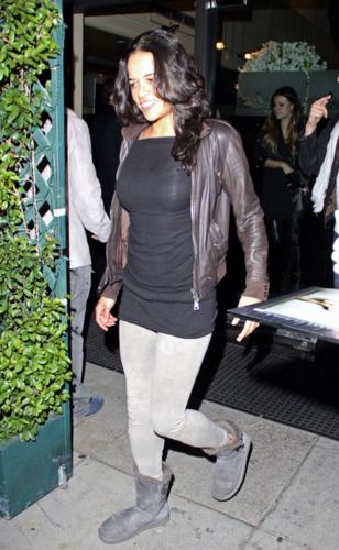 Michelle - and Kyle Richards at Mr. Chow, February 04, 2012